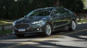 Test Ford Mondeo Híbrido: eco y sport