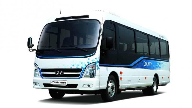 Hyundai County Electric es un autobús eléctrico con un desempeño y eficiencia sinigual