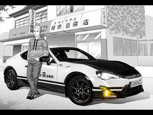 Toyota GT86 Initial D Concept, del manga a la realidad