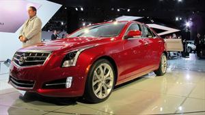 Cadillac ATS debuta en el Salón de Detroit 2012