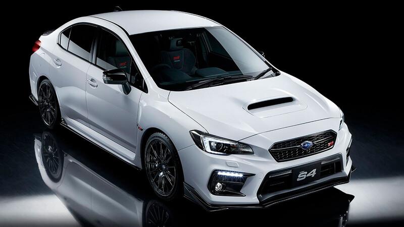 Subaru WRX S4 STI Sport # 2021, un nombre musical para una edición muy deportiva