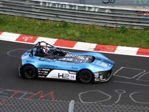 Forze VI, el auto de hidrógeno más rápido en Nürburgring