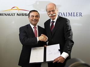 Alianza entre Renault-Nissan y Daimler  avanza con paso firme