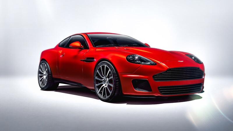Aston Martin CALLUM Vanquish 25: Manejo de calidad