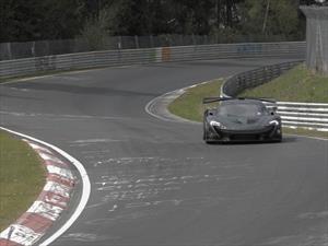 Video: McLaren P1 marca el nuevo récord de Nürburgring