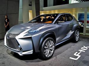 Lexus LF-NX Crossover Concept  se presenta