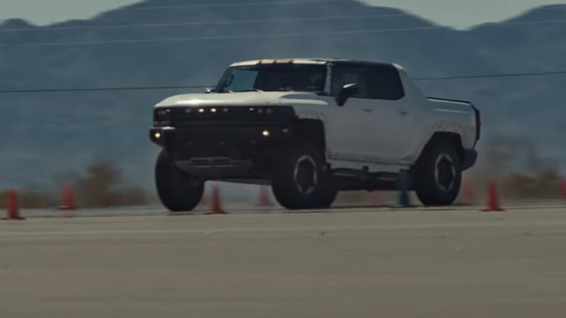 """Video: conoce el """"launch control"""" de la Hummer EV"""