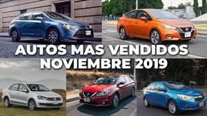 Los 10 autos más vendidos en noviembre 2019