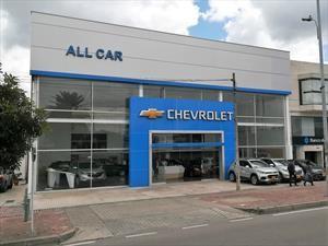 All Car, una nueva vitrina de Chevrolet en Bogotá