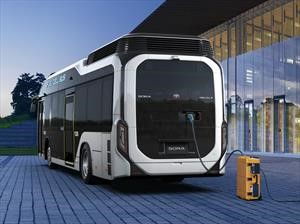 Toyota Sora, el primer transporte de pasajeros que funciona con hidógeno