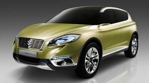 Suzuki S-CROSS Concept presente en el Salón de París 2012