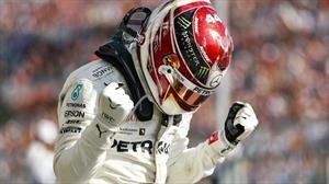 F1 2019: Lewis Hamilton celebra su sexto titulo en Austin