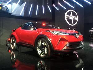Scion C-HR Concept, un crossover radical
