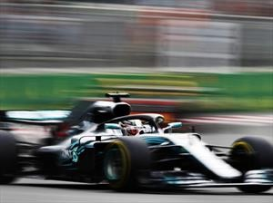 Hamilton vence en el GP de Azerbaiyán 2018