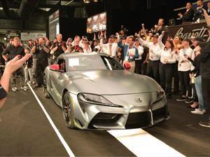 Toyota Supra 2020 No. 1 es subastado en más de $40 millones de pesos