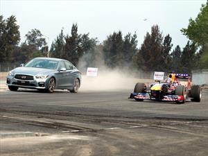 Pilotos de F1 estrenan el Autódromo Hermanos Rodríguez