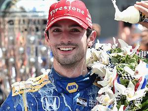 Alexander Rossi triunfa en las 500 Millas de Indianápolis