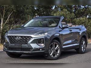 Hyundai hizo una versión convertible del nuevo Santa Fe