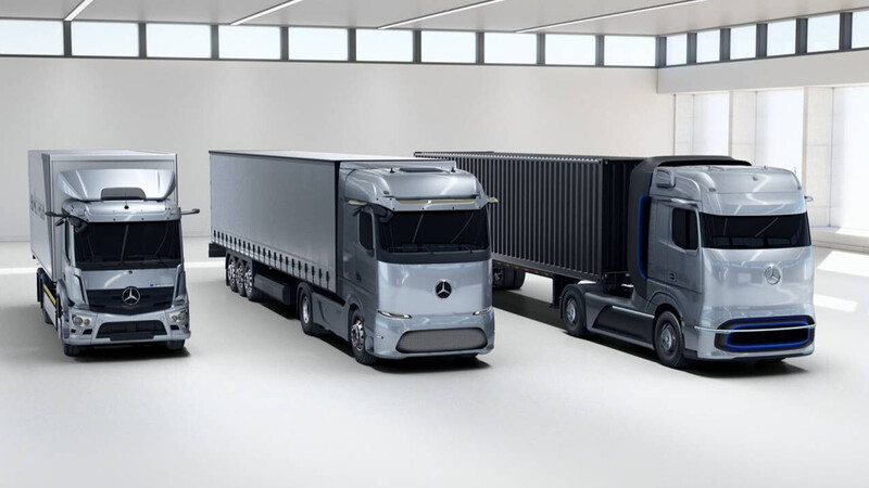 Mercedes-Benz trabaja en el desarrollo de camiones de hidrógeno