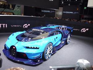 Bugatti Vision Gran Turismo se presenta