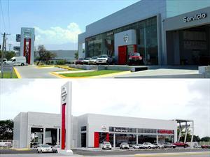 Nissan inaugura dos nuevas concesionarias en México