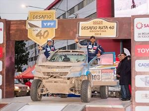 Chevrolet Dakar Team ocupa el tercer puesto del Desafío Ruta 40