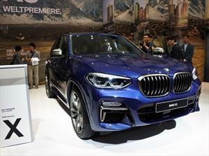 BMW X3 2018 llegará a México antes de que termine el año
