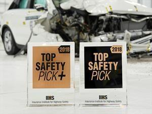 IIHS: Los carros más seguros para 2018