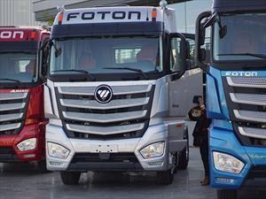 Foton actualiza su linea de productos Auman con nuevos camiones Tracto