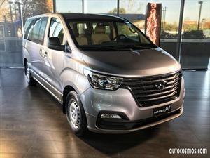 Hyundai H1 2018 en Chile, nueva cara para el reconocido furgón coreano