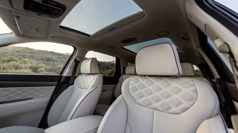 Interior del Hyundai Palisade huele mal