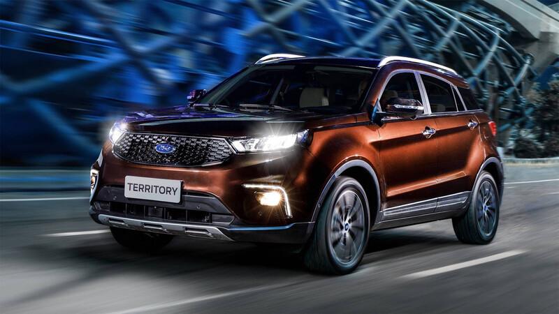 Ford Territory, el SUV se acerca a Chile