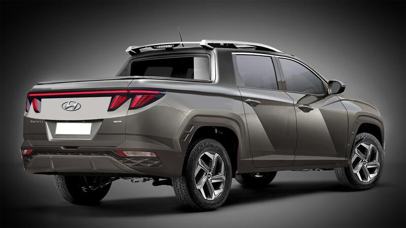Hyundai Santa Cruz: así podría ser la pick up coreana