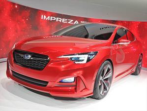 Subaru Impreza Sedan Concept, un vistazo a la futura generación