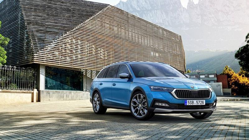 Škoda Octavia Scout: cuando los familiares se diseñan bien