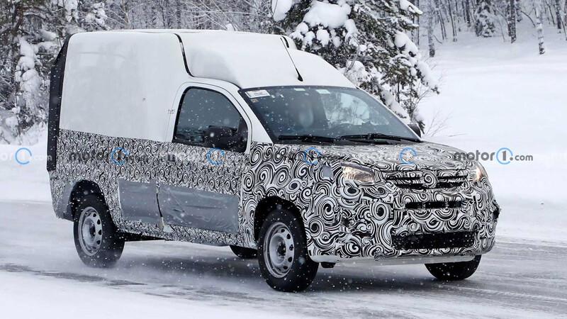 FIAT mandó de viaje a la Fiorino 2022 a capacitarse en la nieve sueca