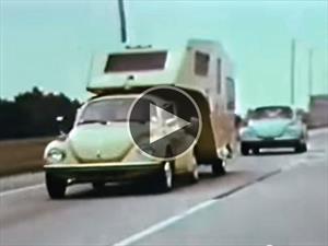 Video: La mejor forma de llevar una casa rodante es con un Volkswagen Escarabajo