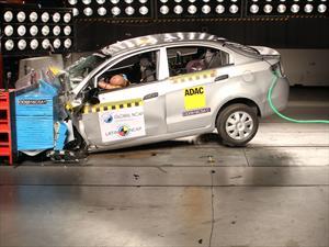 Latin NCAP: Chevrolet Sail ensamblado en Colombia obtiene 0 estrellas de seguridad