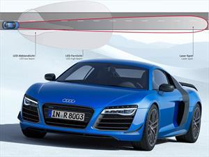 Audi R8 LMX es el primero en tener faros de tecnología láser
