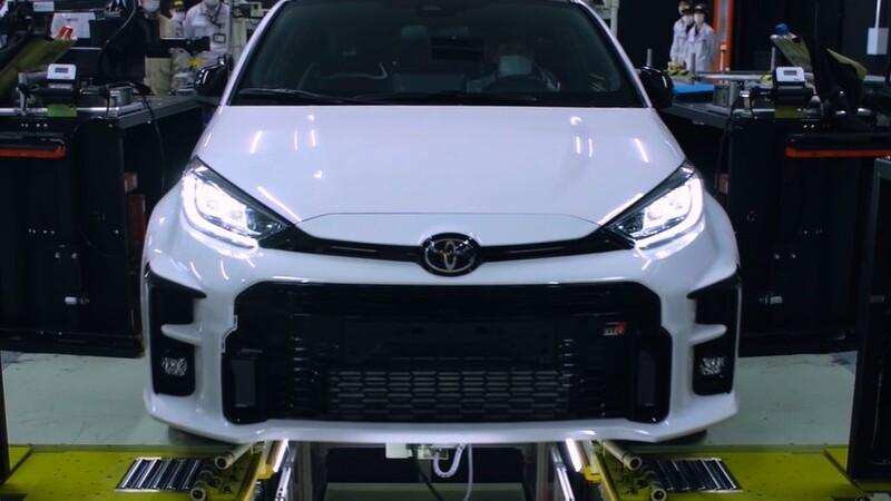 El Toyota GR Yaris ya se produce en Japón