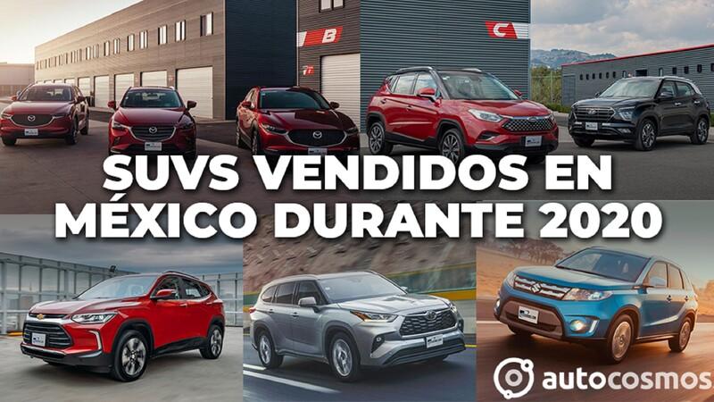 Los SUVs más vendidos en México durante 2020