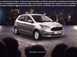 Esta es la primera imagen del Ford Ka de producción