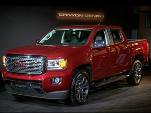GMC Canyon Denali 2017, un pick up lleno de lujo y confort