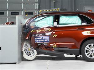 Ford Edge 2016 recibe el reconocimiento Top Safety Pick del IIHS