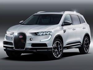 ¡Bomba!: ¿Se viene la SUV híbrida de Bugatti?