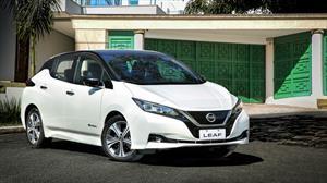 El Nissan Leaf ya rueda en Colombia