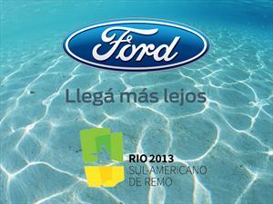 Ford la está remando y le vá muy bien