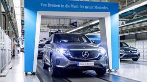 Mercedes-Benz EQC, el primer eléctrico de la alemana inicia producción