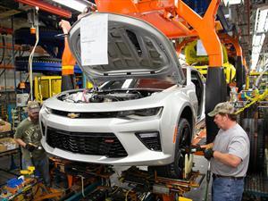 Planta de Chevrolet Camaro recibe inversión por $175 millones de dólares