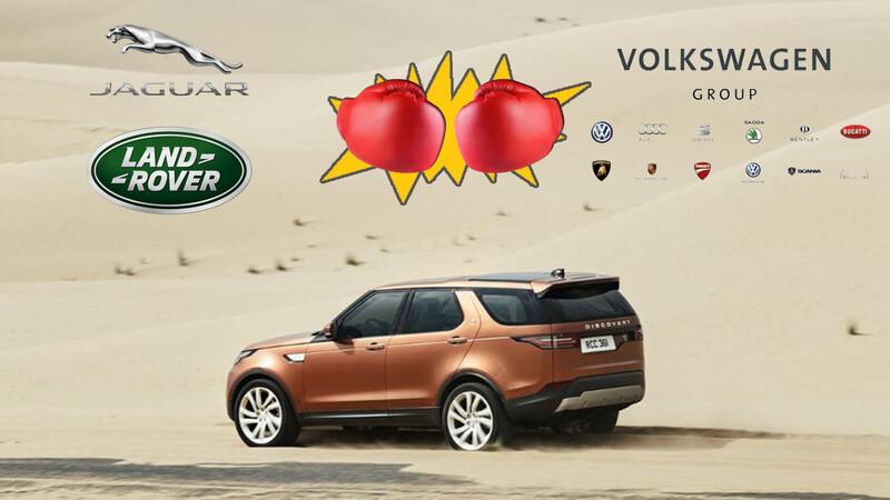 Jaguar Land Rover dice que Volkswagen les copió su interfaz Terrain Response